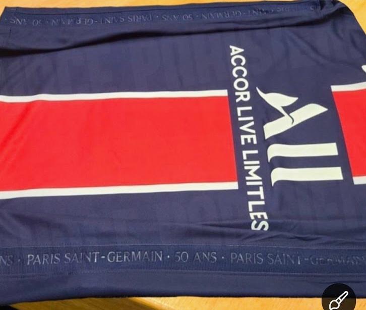 Paris Saint Germain 2021 détails maillot domicile