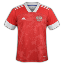 Russie Euro 2020 maillot domicile version 2