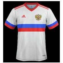 Russie Euro 2020 maillot exterieur