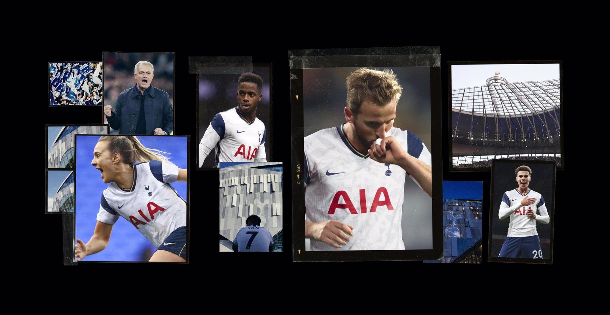 Tottenham 2020 2021 domicile officiel