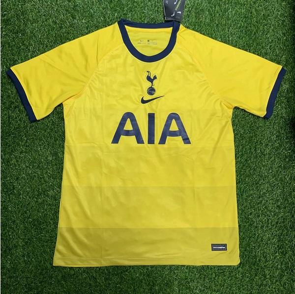 Tottenham 2021 3eme maillot third jaune
