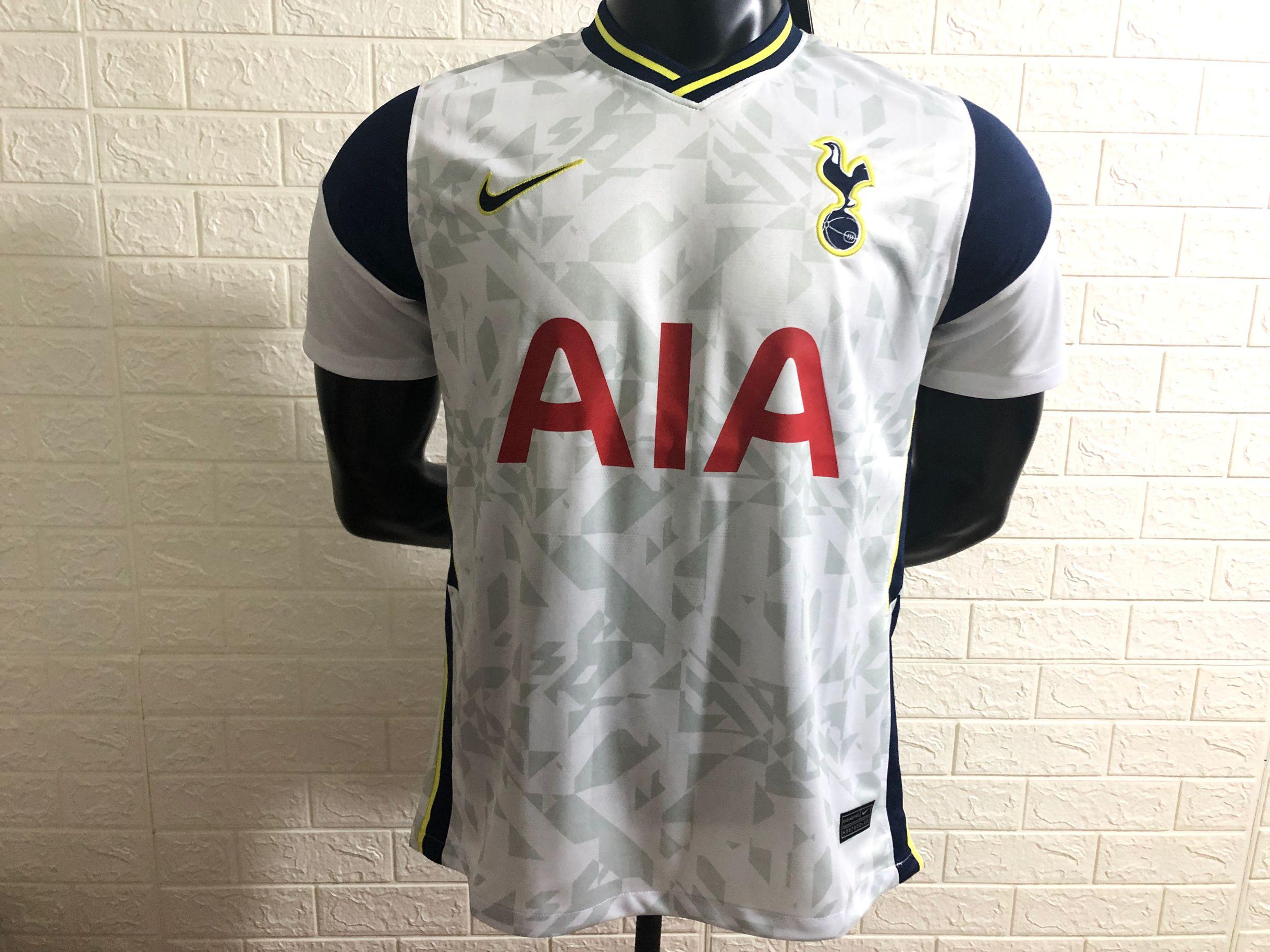 Tottenham 2021 maillot domicile foot