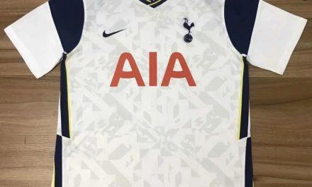 Tottenham 2021 les 4 nouveaux maillots de football