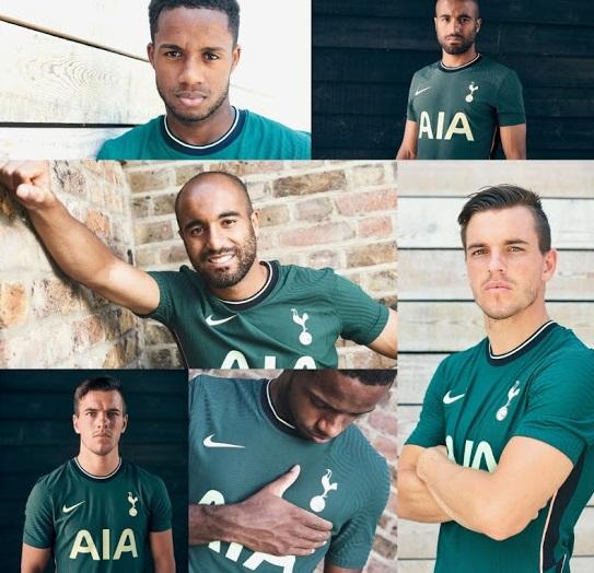Tottenham 2021 maillot exterieur officiel