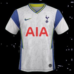 Tottenham 2021 nouveau maillot domicile foot