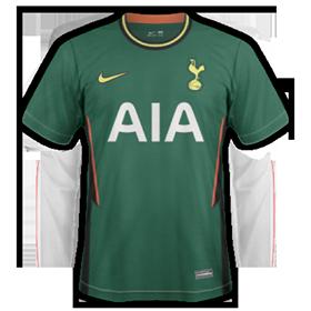 Tottenham 2021 nouveau maillot exterieur foot
