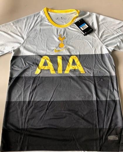 Tottenham 2021 quatrieme maillot