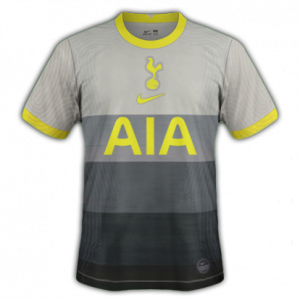 Tottenham 2021 quatrieme maillot football