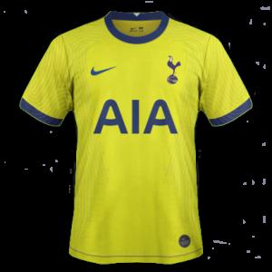 Tottenham 2021 troisieme maillot foot third