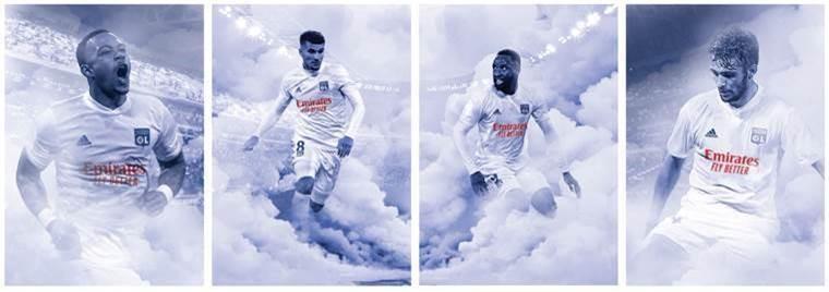 maillot OL nouveau sponsor Lyon Emirates