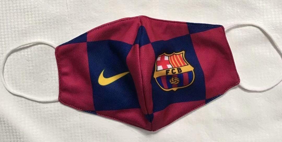 masque Coronavirus FC Barcelone