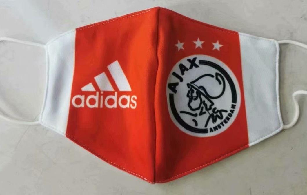 masque Coronavirus football AJAX Amsterdam