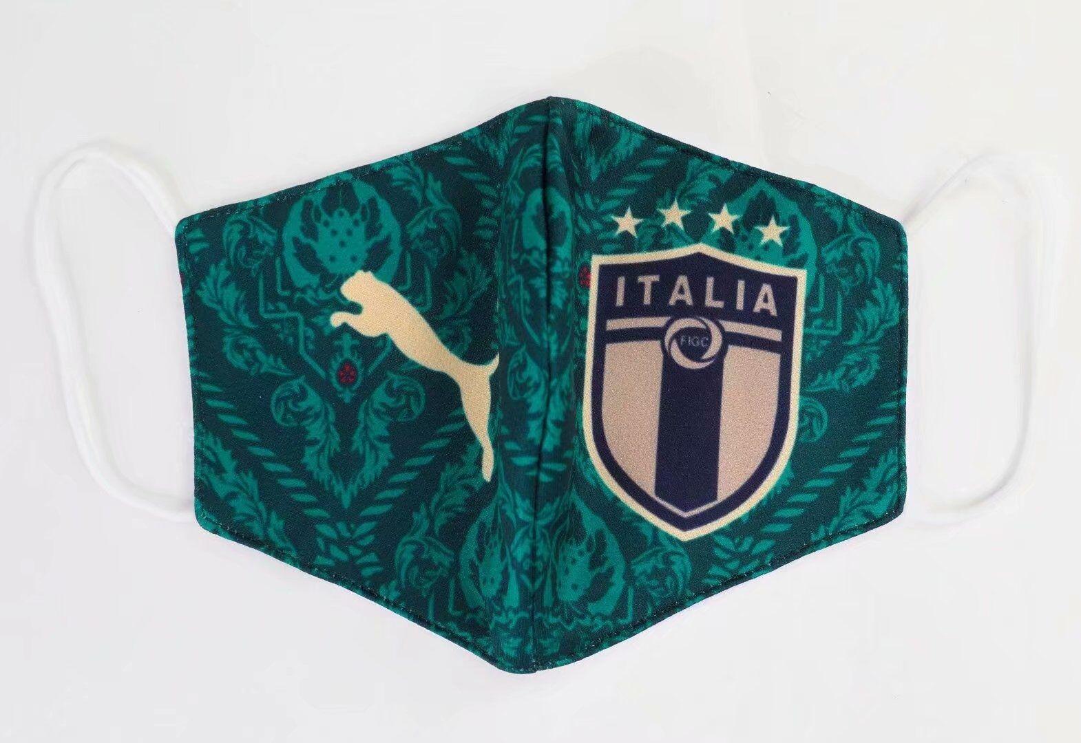 masque Coronavirus football Italie