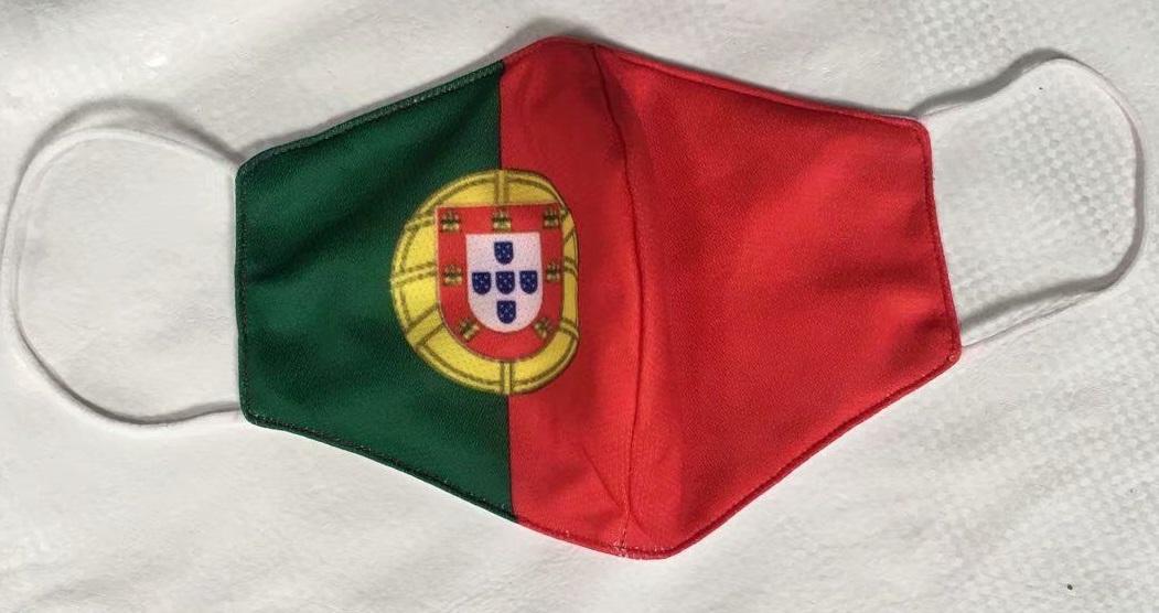 masque Coronavirus football Portugal