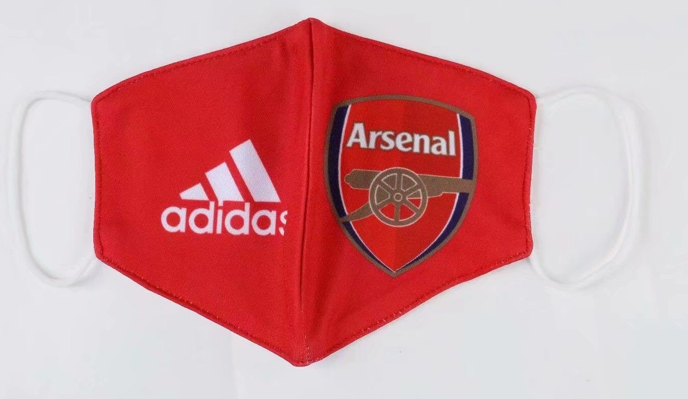 masque Covid19 foot Arsenal