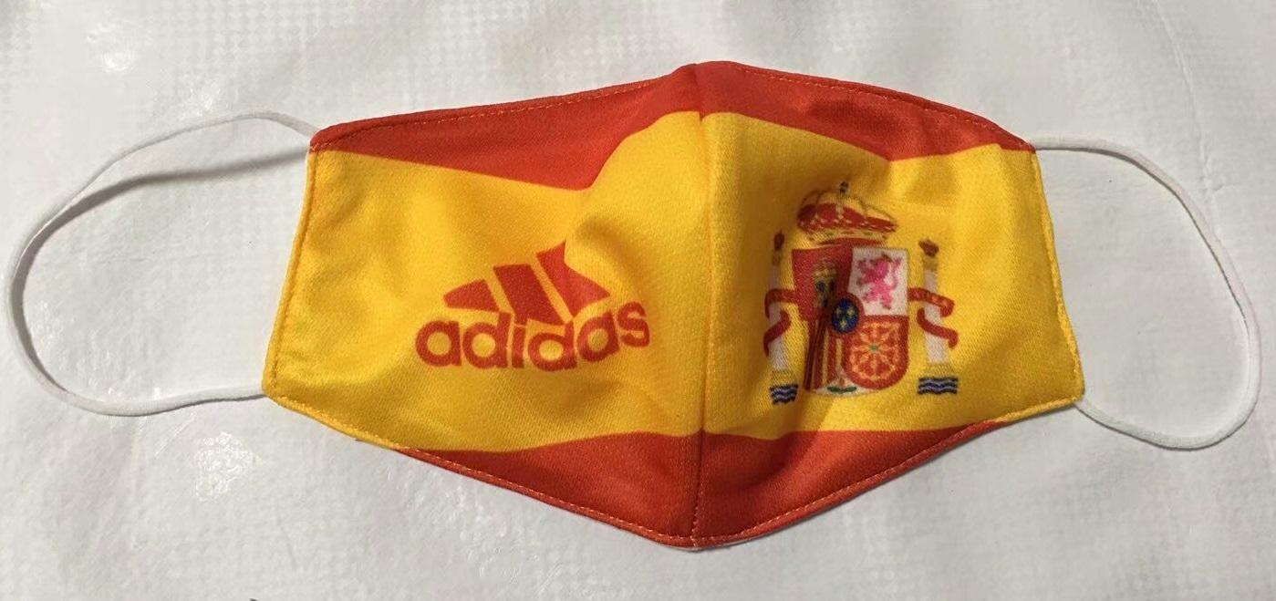 masque Covid19 foot Espagne