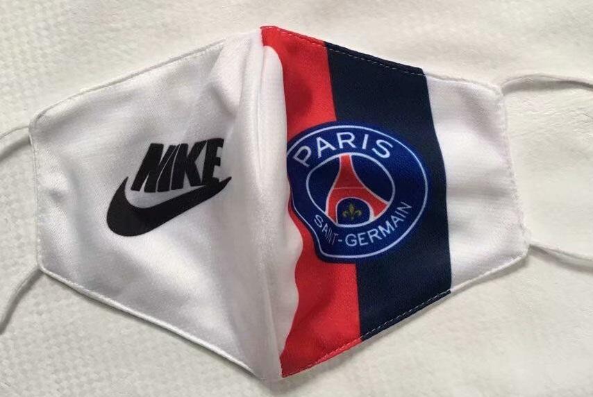 masque Covid19 foot PSG Paris