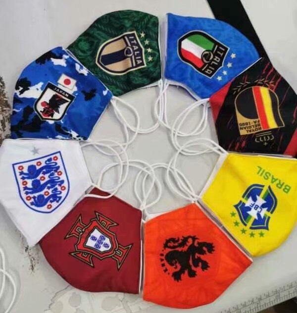 masques protection Covid19 football