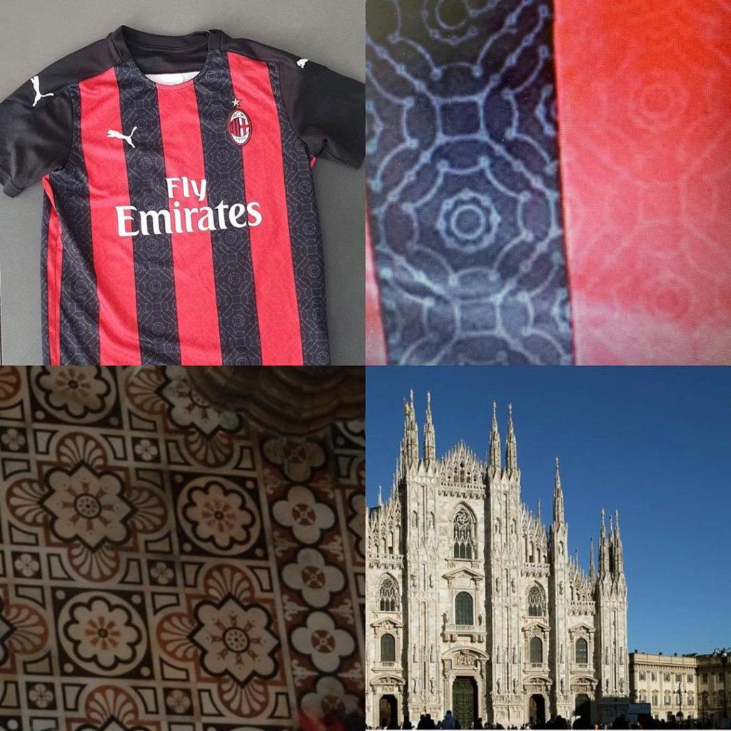 AC Milan 2020 2021 inspiration maillot de football