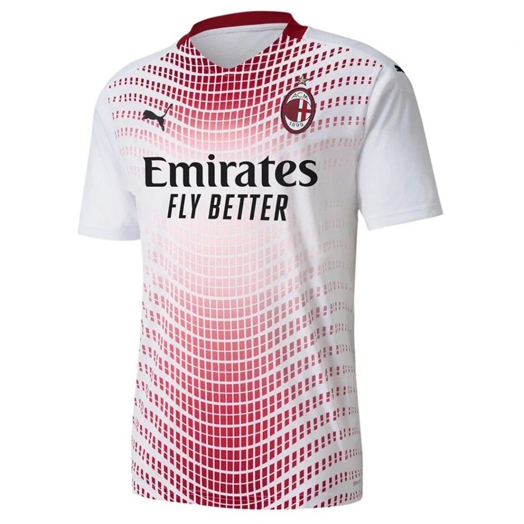 AC Milan 2021 nouveau maillot de foot exterieur