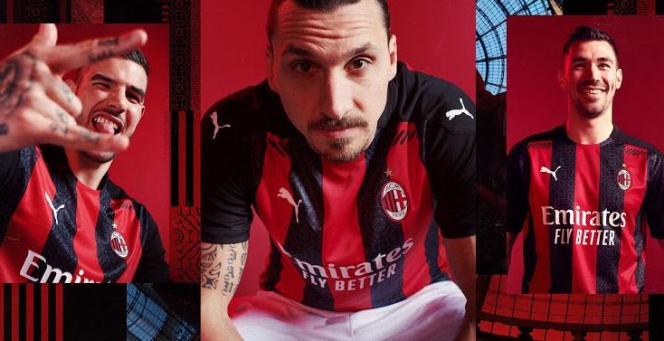 AC Milan 2021 nouveau maillot domicile foot