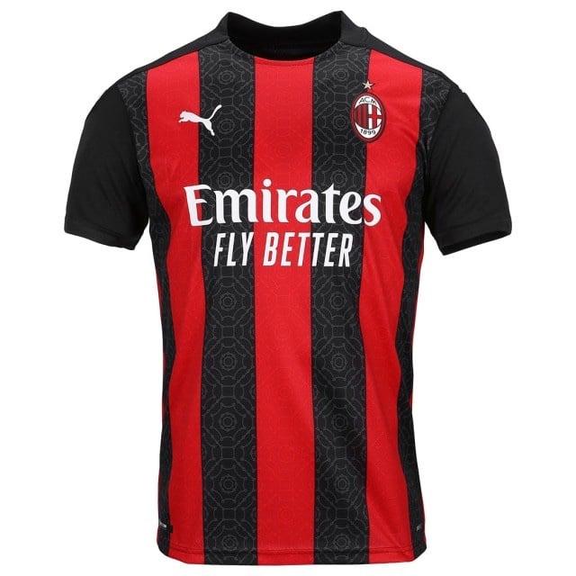 AC Milan 2021 nouveau maillot domicile