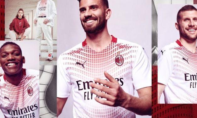 Découvrir les nouveaux maillots de foot AC Milan 2021