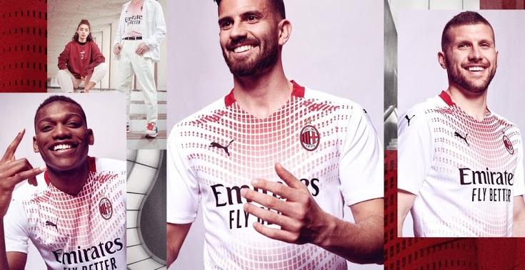 AC Milan 2021 nouveau maillot exterieur Puma