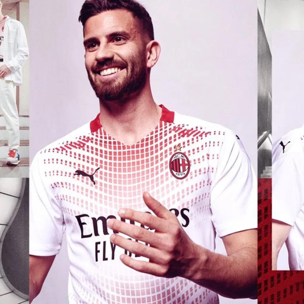 AC Milan 2021 nouveau maillot exterieur