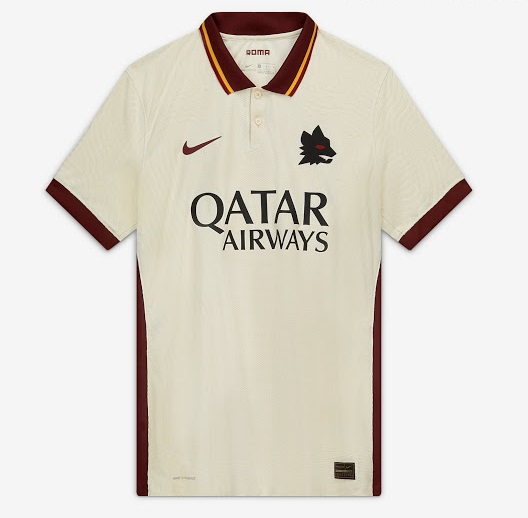 AS Roma 2020 2021 maillot exterieur Nike