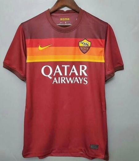 AS Roma 2020 2021 nouveau maillot domicile
