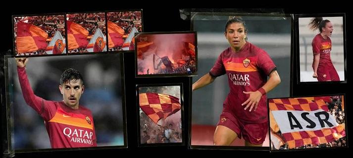 AS Roma 2021 nouveau maillot de foot domicile