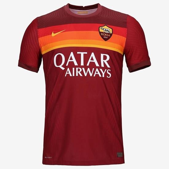 AS Roma 2021 maillot de foot domicile