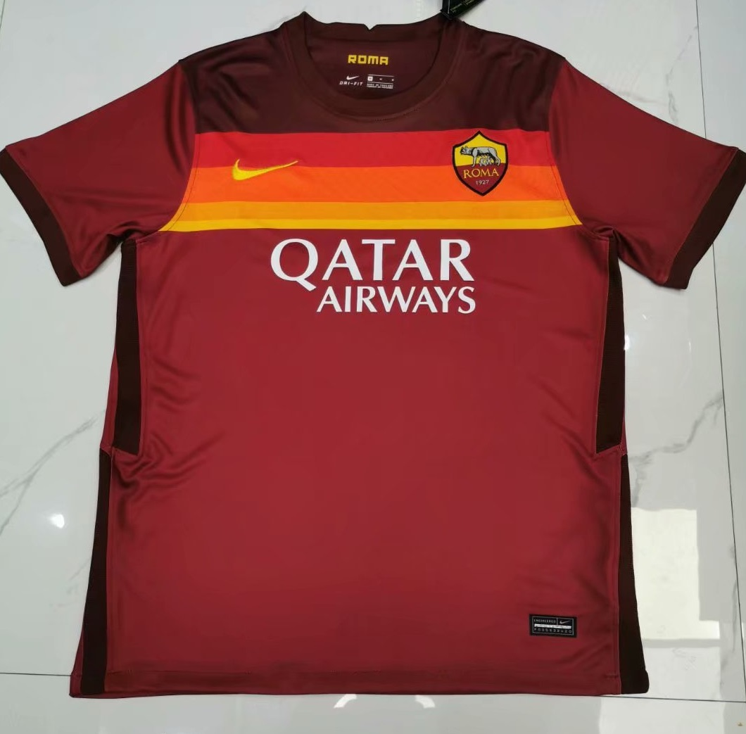 AS Roma 2021 maillot domicile football