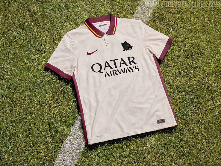 AS Roma 2021 maillot exterieur football