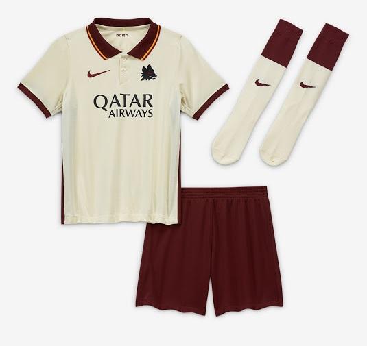 AS Roma 2021 maillot exterieur