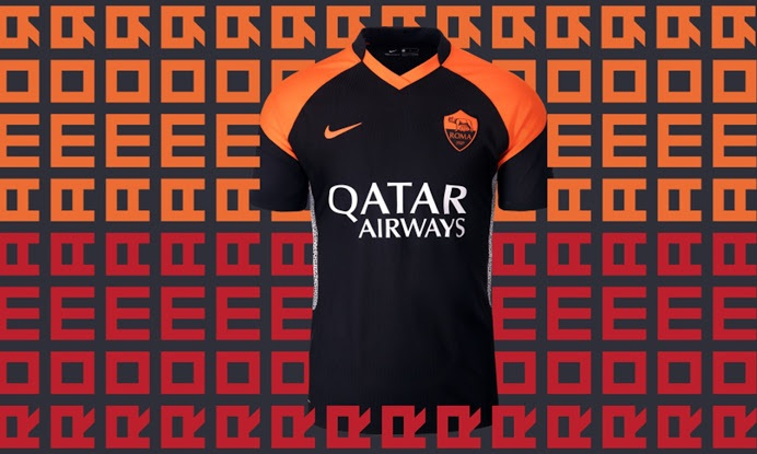 AS Roma 2021 maillot third
