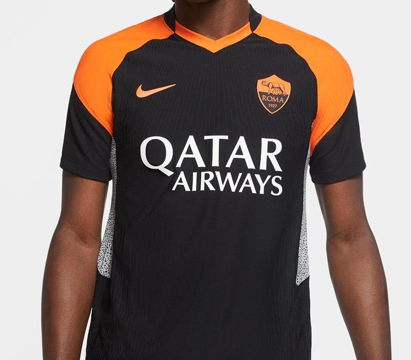AS Roma 2021 troisieme maillot third officiel