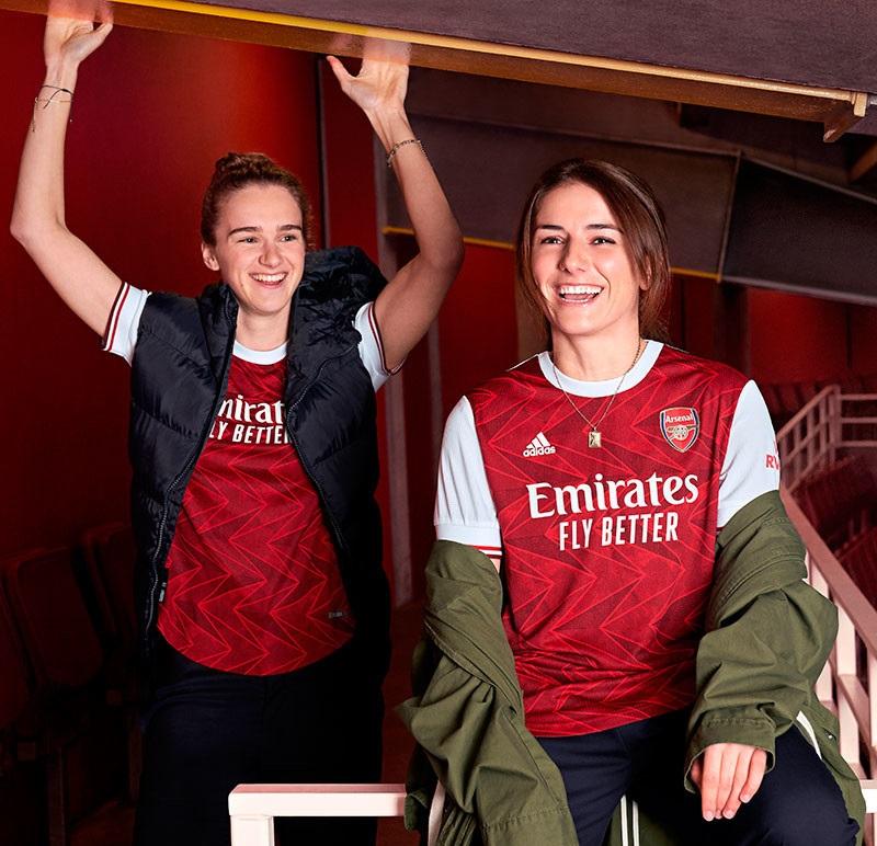 Arsenal 2021 maillot de foot domicile Adidas