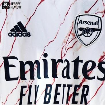 Arsenal 2021 maillot de foot exterieur 1