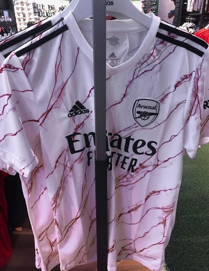 Arsenal 2021 maillot exterieur Adidas