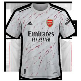 Arsenal 2021 maillot exterieur foot