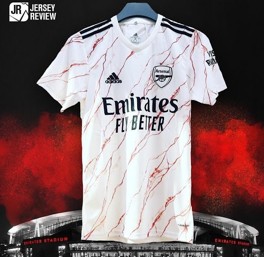 Arsenal 2021 maillot exterieur officiel