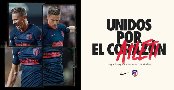 Atletico Madrid 2021 Nike maillot exterieur de football