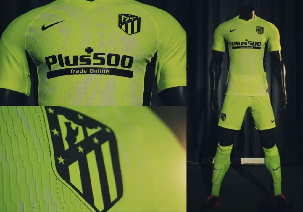 Atletico Madrid 2021 Nike troisieme maillot de football