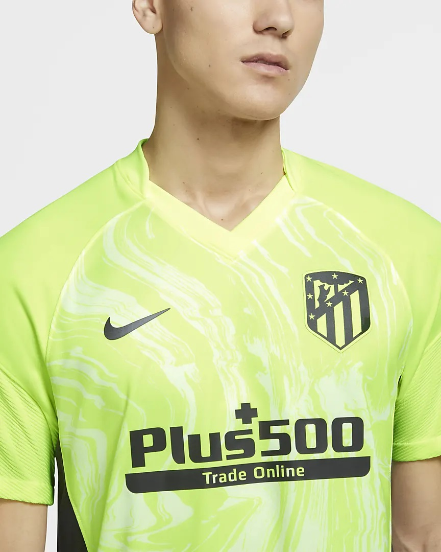 Atletico Madrid 2021 Nike troisieme maillot football