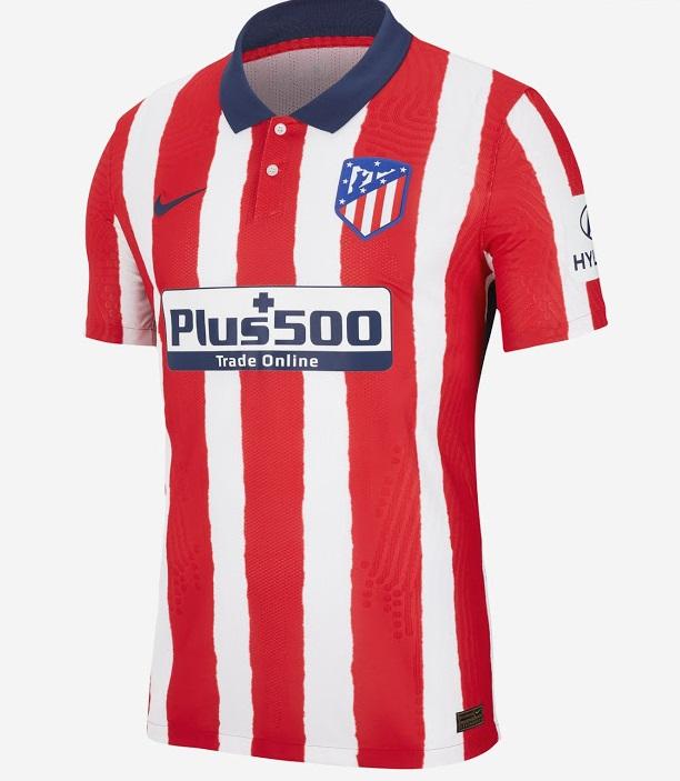 Atletico Madrid 2021 maillot domicile Nike