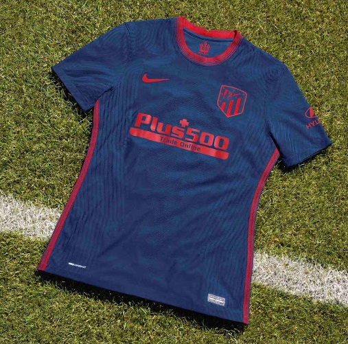 Atletico Madrid 2021 maillot exterieur de football