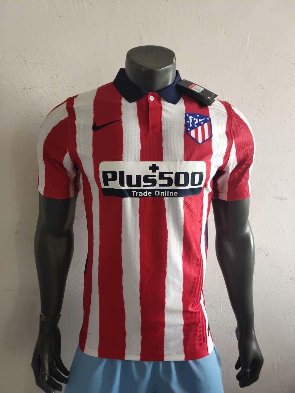 Atletico Madrid 2021 nouveau maillot domicile foot