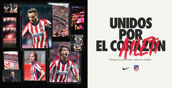 Atletico Madrid 2021 nouveau maillot domicile officiel